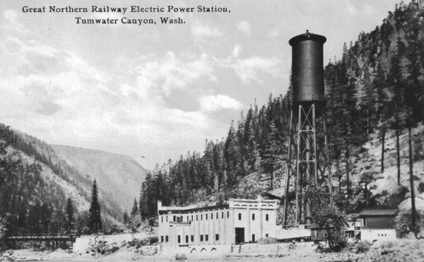 Tumwater Canyon Power Station