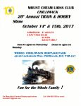 Mount Cheam Lions Club Train and Hobby Show 2017