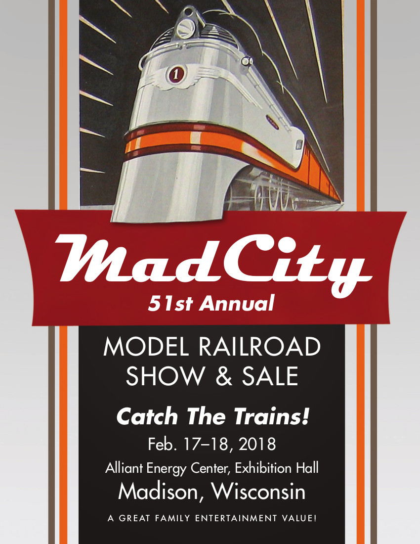 GNRHS at the Mad City Model Railroad Show & Sale