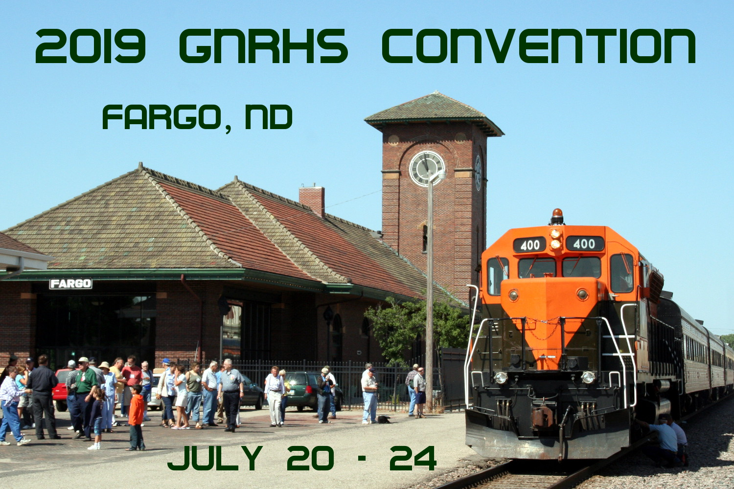 2019 GNRHS Convention - Fargo